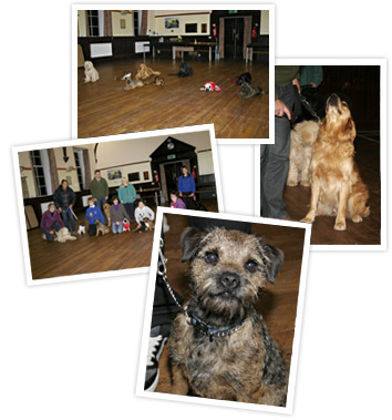 Dog Training at Dalry Town Hall, with Eric Broadhurst